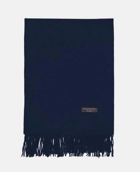 Bilde av Cashmeretørklæde dark blue