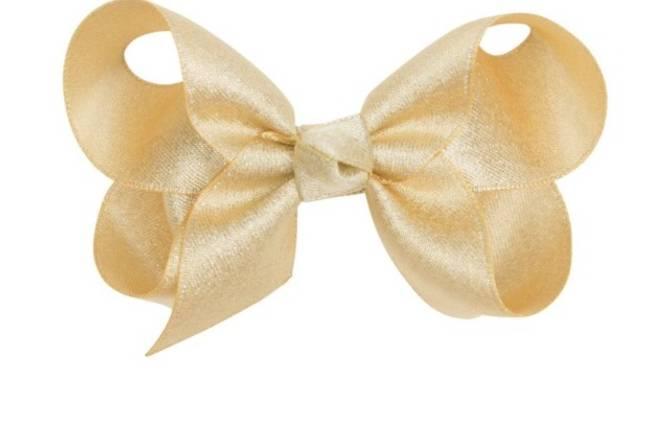 Bilde av kornelia 8 cm sløyfe gullglimmer