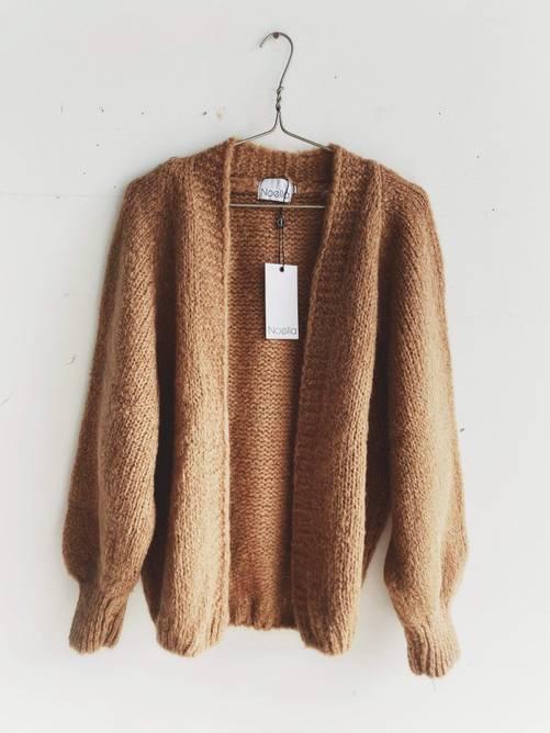 Bilde av Fora knit cardigan camel