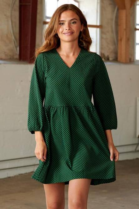 Bilde av Noella Hanna Dress Black/green Check